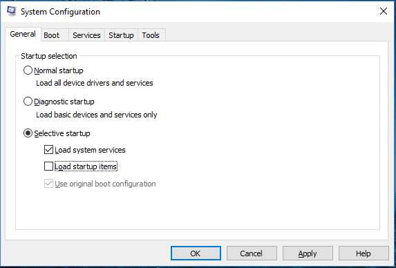 outlook hangs on loading profile in version 2016