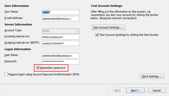 fix outlook keeps asking for password