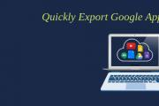 export Google Apps emails