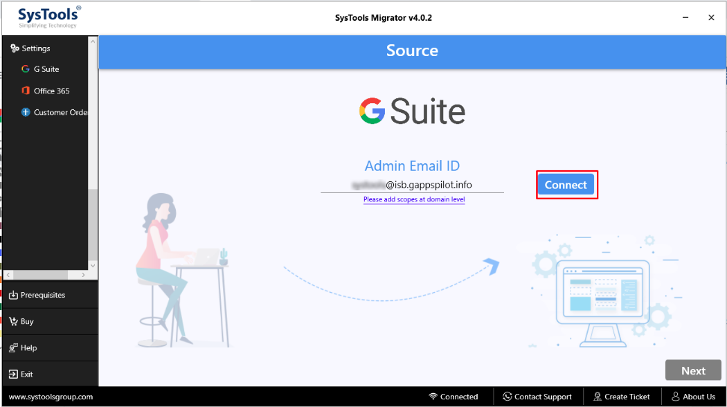 G Suite Email Migration tool