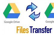 Transfer Data from Google Drive to Google Drive