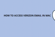 HOW TO ACCESS VERIZON EMAIL IN MAC