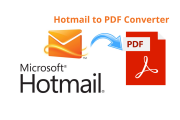 Hotmail to PDF converter