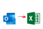 outlook contacts to excel