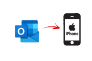 outlook contacts to iphone