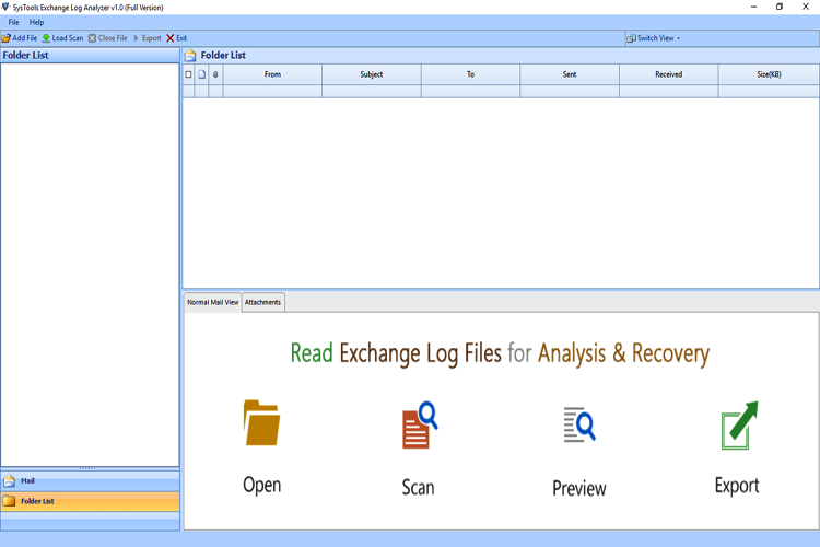 Exchange Log Analyzer