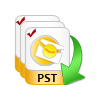 import selective pst files