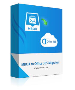 Revove MBOX to Office 365 Migrator