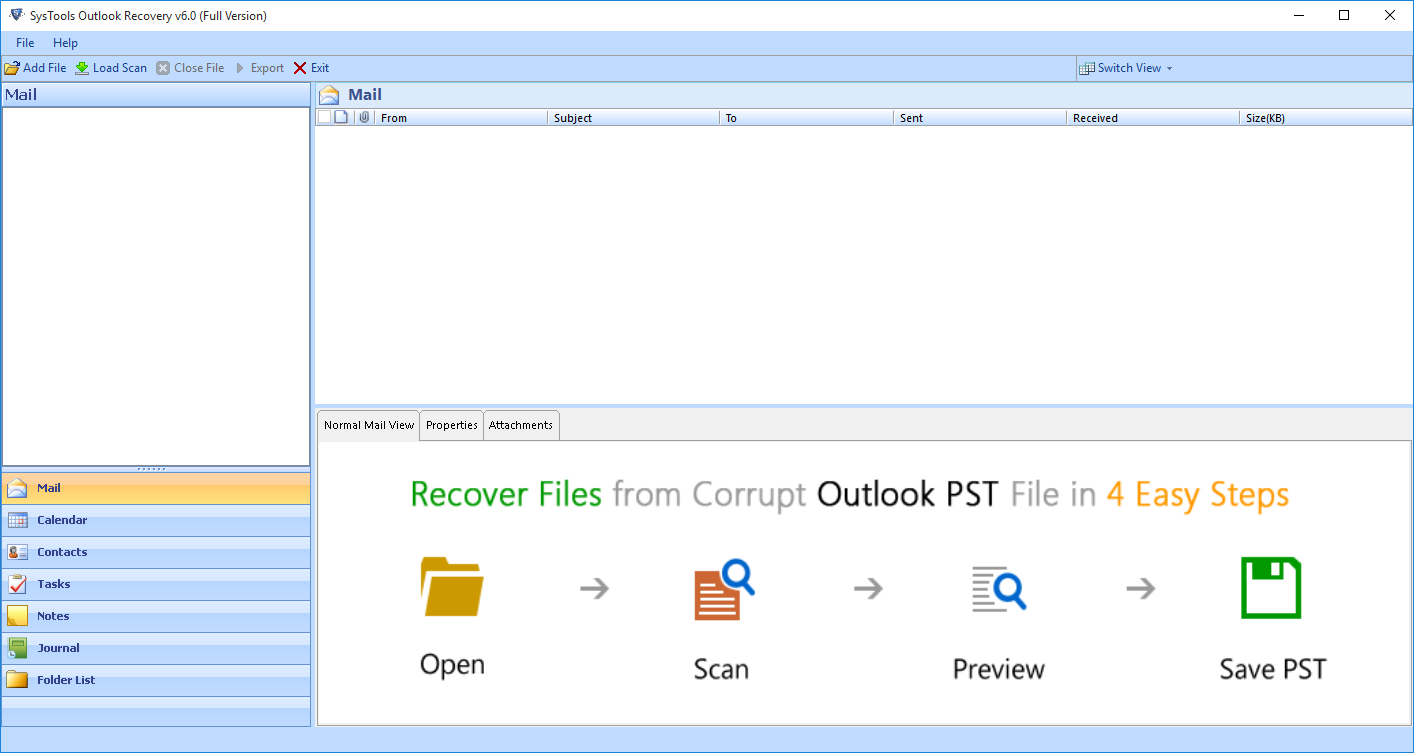 Software Working Methodology to Quickly Repair Outlook Data