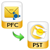Convert AOL PFC to Outlook PST