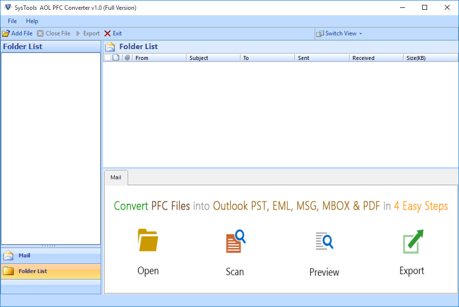 Launch PFC Converter Software