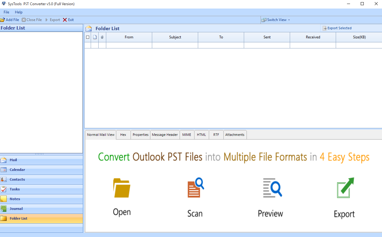 Outlook PST Converter