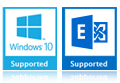 windows 10 exchange supported